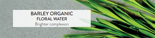 Barley Organic Floral Water: Brighter complexion