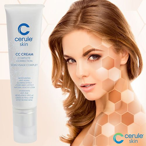 CC Cream is a hybrid formula of skincare and color-correction designed for all skin types.